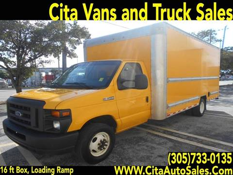 0af871a45d 2015 FORD ECONOLINE E-350 DRW 16 FT BOX TRUCK E350 for sale in Medley