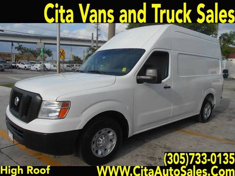 2013 Nissan NV Cargo for sale at Cita Auto Sales in Medley FL
