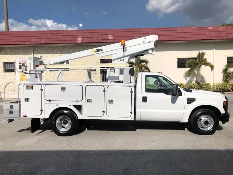 2008 Ford F350 Altec Bucket Truck Boom Utility Service Truck