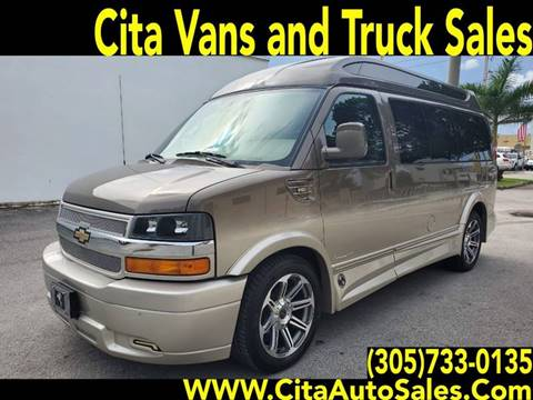 2016 CHEVROLET EXPRESS HI TOP CONVERSION VAN for sale in Medley, FL