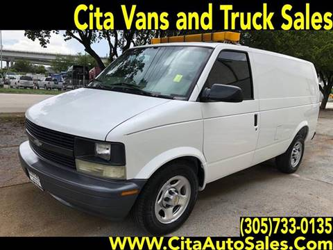 2003 Chevrolet Astro Cargo for sale in Medley, FL