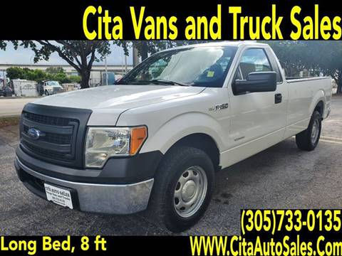2013 Ford F-150 for sale at Cita Auto Sales in Medley FL
