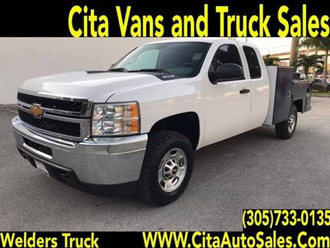 2013 CHEVROLET SILVERADO 2500 HD SUPERCAB WELDER UTILITY TRUCK for sale at Cita Auto Sales in Medley FL