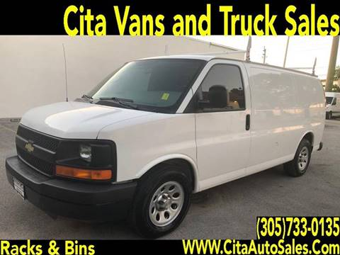 2011 CHEVROLET EXPRESS 1500 CARGO VAN for sale at Cita Auto Sales in Medley FL