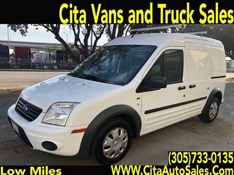 2013 Ford Transit Connect for sale at Cita Auto Sales in Medley FL