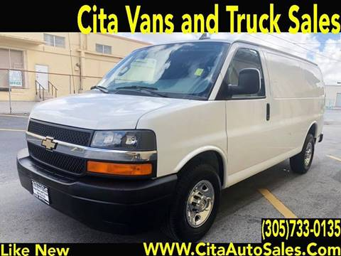 2018 Chevrolet Express Cargo for sale at Cita Auto Sales in Medley FL