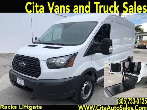 2016 Ford Transit Cargo for sale at Cita Auto Sales in Medley FL