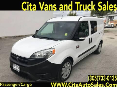 2016 RAM ProMaster City Cargo for sale at Cita Auto Sales in Medley FL