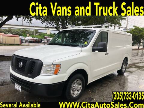 2015 Nissan NV Cargo for sale at Cita Auto Sales in Medley FL