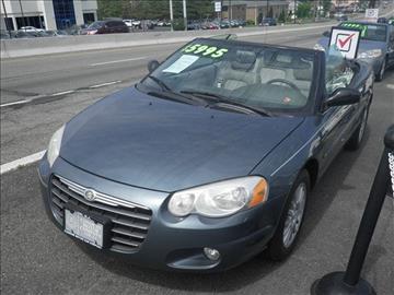 2006 Chrysler Sebring for sale at CMC Auto Wholesale in Lodi NJ