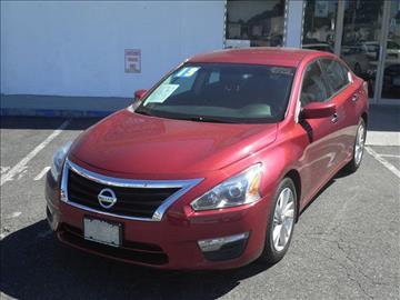 2013 Nissan Altima for sale at CMC Auto Wholesale in Lodi NJ