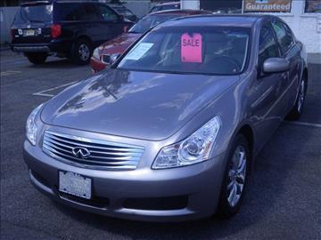 2008 Infiniti G35 for sale at CMC Auto Wholesale in Lodi NJ
