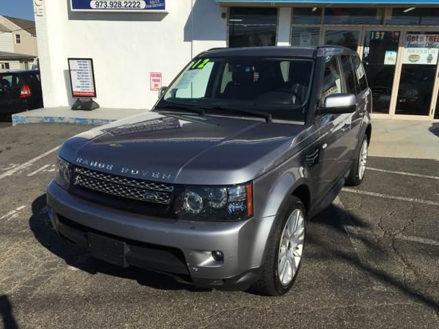 2012 Land Rover Range Rover Sport for sale at CMC Auto Wholesale in Lodi NJ