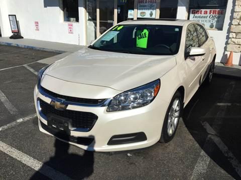 2014 Chevrolet Malibu for sale at CMC Auto Wholesale in Lodi NJ