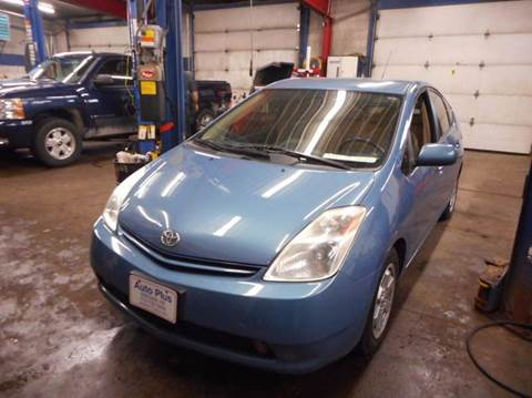 2005 Toyota Prius for sale at AUTO PLUS INC in Marinette WI