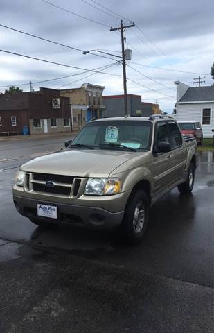 2002 Ford Explorer Sport Trac for sale at AUTO PLUS INC in Marinette WI