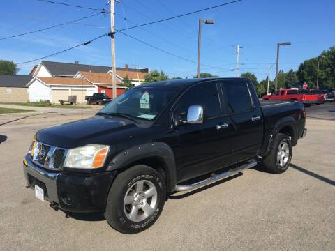 2004 Nissan Titan for sale at AUTO PLUS INC in Marinette WI