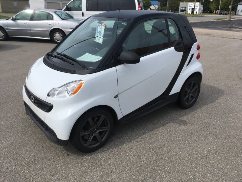 2014 Smart fortwo for sale at AUTO PLUS INC in Marinette WI