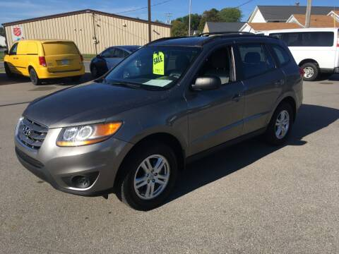 2011 Hyundai Santa Fe for sale at AUTO PLUS INC in Marinette WI