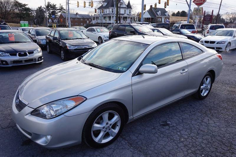 2005 toyota camry solara sle v6 2dr coupe in harrisburg pa. Black Bedroom Furniture Sets. Home Design Ideas