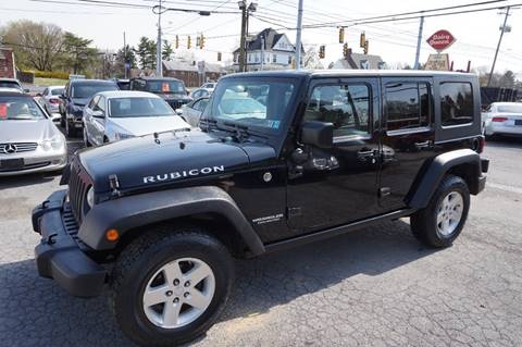 2008 Jeep Wrangler Unlimited for sale in Harrisburg, PA