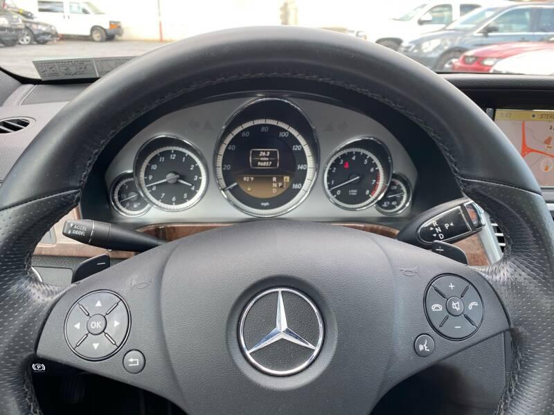 2011 Mercedes-Benz E-Class AWD E 550 Sport 4MATIC 4dr Sedan - Harrisburg PA