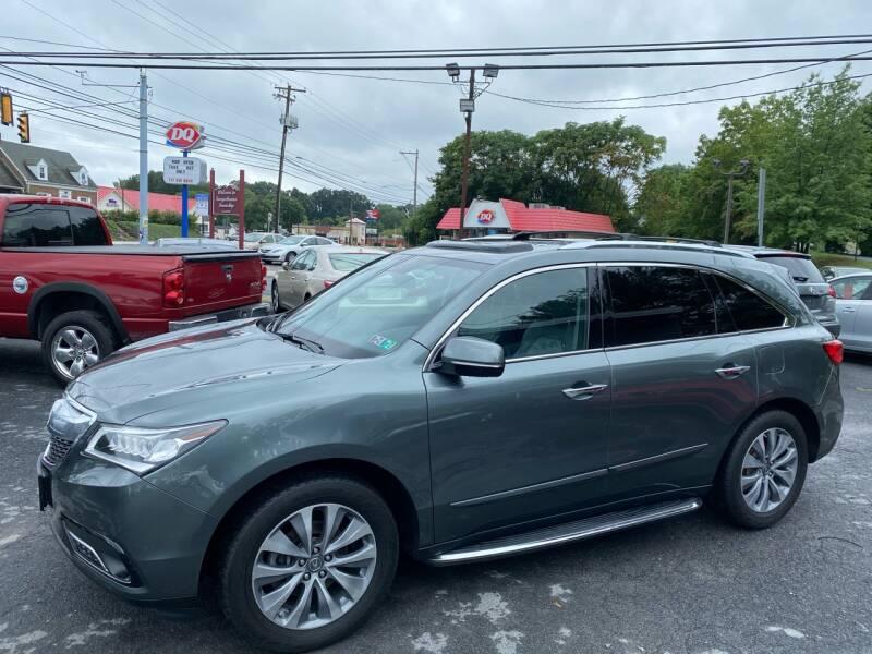 2014 Acura MDX SH-AWD 4dr SUV w/Technology Package - Harrisburg PA
