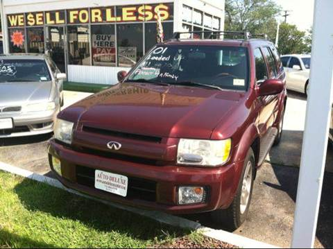 2001 Infiniti QX4 for sale in Toms River NJ