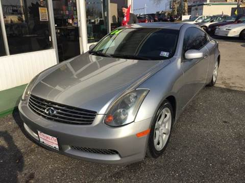 2004 Infiniti G35 for sale in Toms River NJ