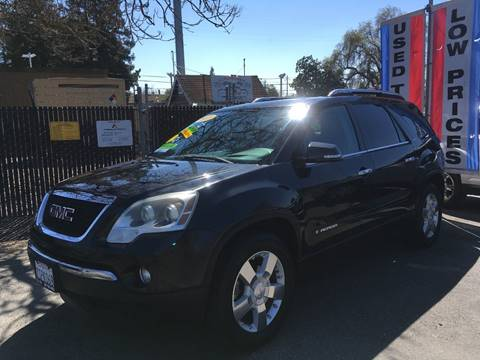 2008 GMC Acadia for sale in Riverbank, CA