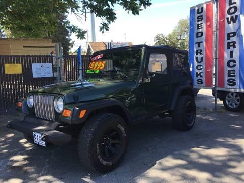 1998 Jeep Wrangler for sale in Riverbank, CA