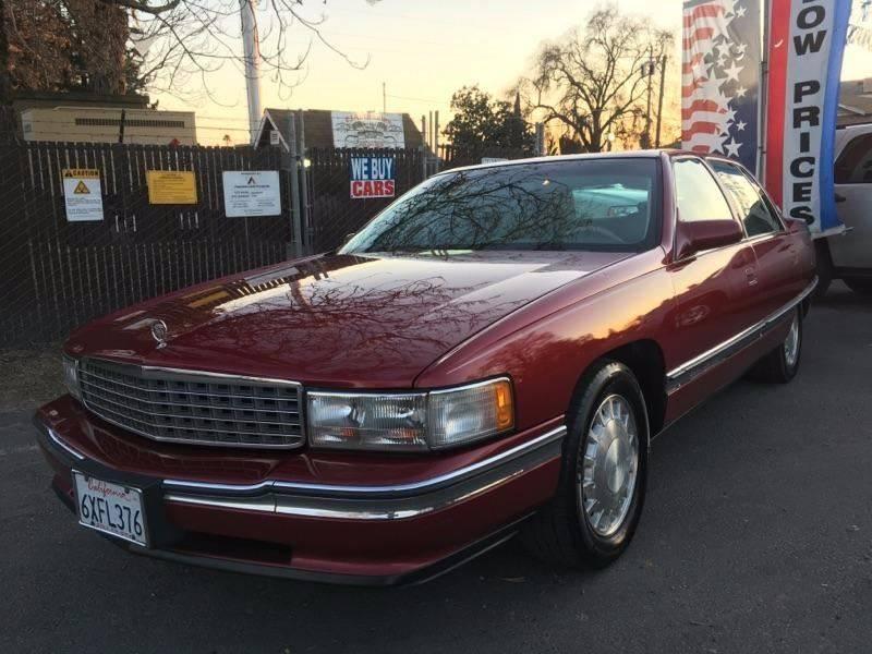 1996 Cadillac DeVille 4dr Sedan - Riverbank CA