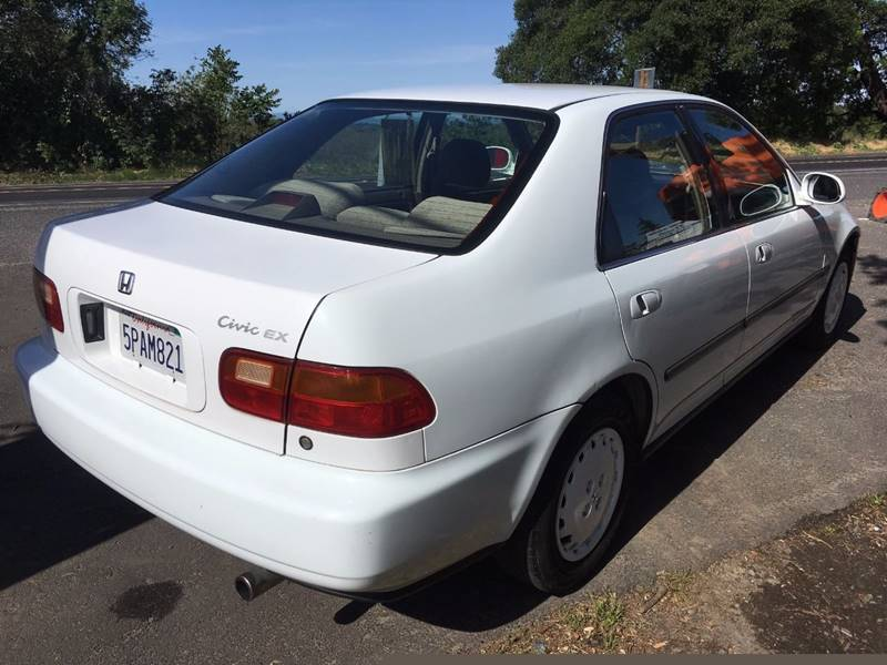 1993 Honda Civic EX 4dr Sedan - Riverbank CA