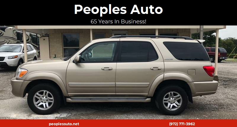 2006 Toyota Sequoia Limited 4dr SUV 4WD   Rockwall TX