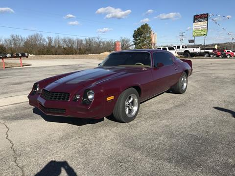 Used 1979 Chevrolet Camaro For Sale In Missouri