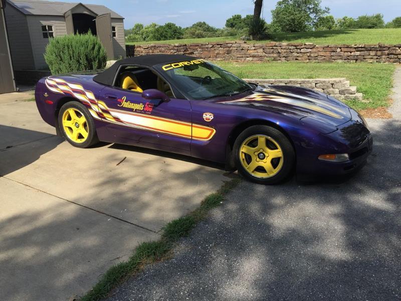 1998 Chevrolet Corvette for sale at EAGLE ROCK AUTO SALES in Eagle Rock MO