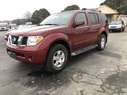2007 Nissan Pathfinder LE for sale at EAGLE ROCK AUTO SALES in Eagle Rock MO