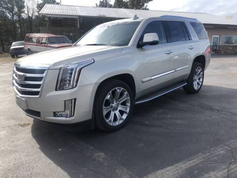 2016 Cadillac Escalade Luxury Collection for sale at EAGLE ROCK AUTO SALES in Eagle Rock MO