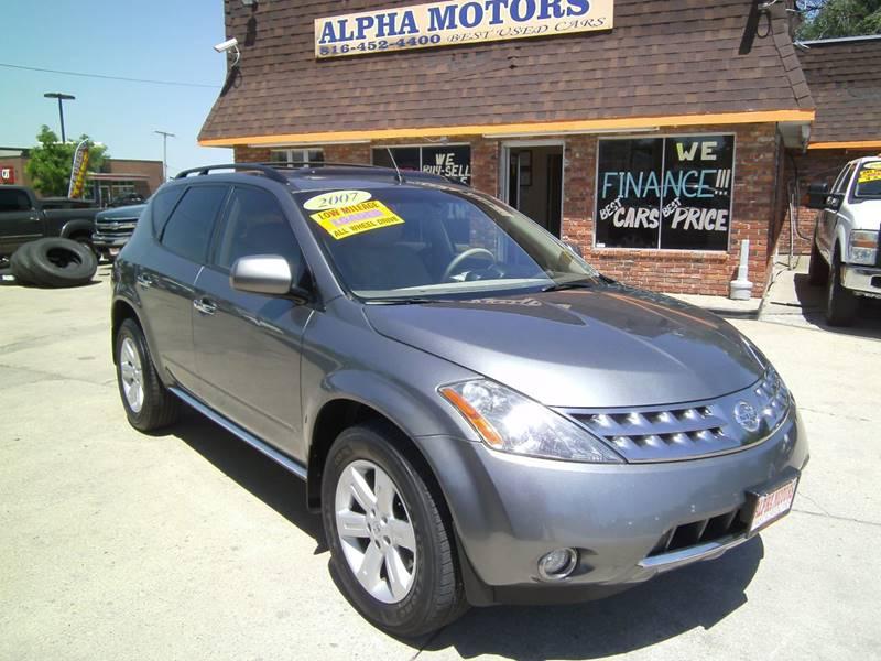 2007 Nissan Murano for sale at Alpha Motors in Kansas City MO