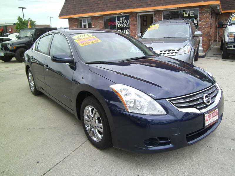 2012 Nissan Altima for sale at Alpha Motors in Kansas City MO