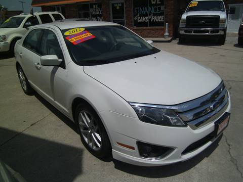 2012 Ford Fusion for sale at Alpha Motors in Kansas City MO