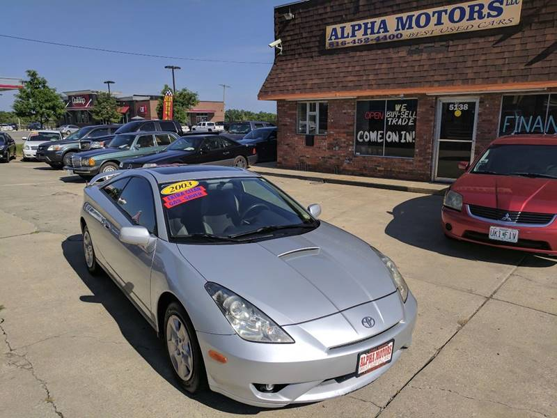2003 Toyota Celica for sale at Alpha Motors in Kansas City MO