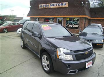2008 Chevrolet Equinox for sale at Alpha Motors in Kansas City MO