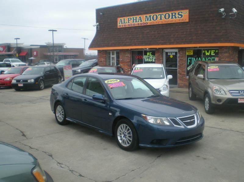 2008 Saab 9-3 for sale at Alpha Motors in Kansas City MO