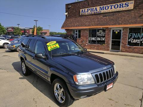 2002 Jeep Grand Cherokee for sale at Alpha Motors in Kansas City MO