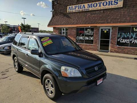 2004 Honda Pilot for sale at Alpha Motors in Kansas City MO