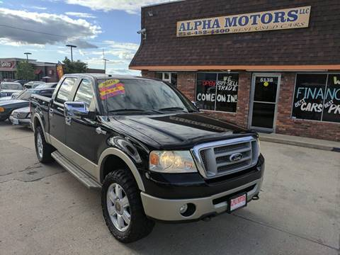 2008 Ford F-150 for sale at Alpha Motors in Kansas City MO