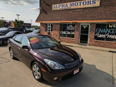 2005 Lexus ES 330 for sale at Alpha Motors in Kansas City MO