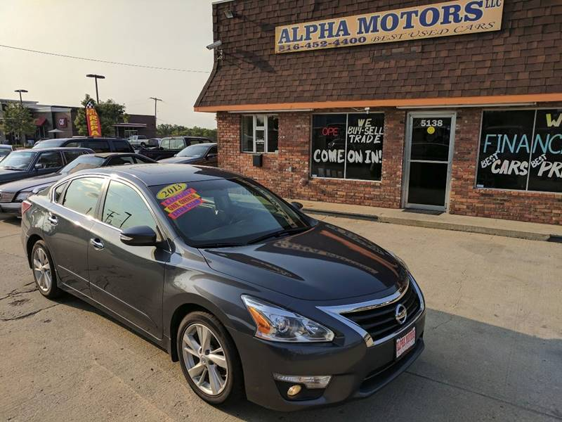 2013 Nissan Altima for sale at Alpha Motors in Kansas City MO
