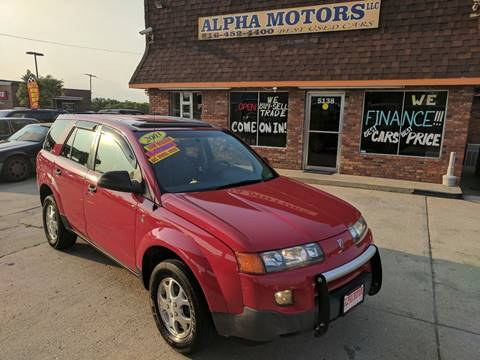 2003 Saturn Vue for sale at Alpha Motors in Kansas City MO